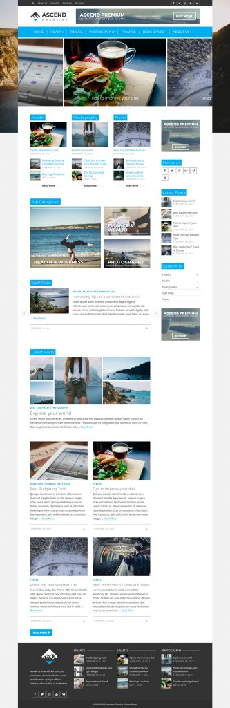 Ascend - Best Multipurpose WordPress Theme