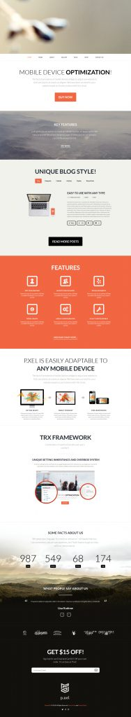 Pixel - Best Multipurpose WordPress Theme