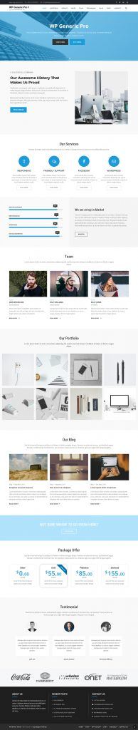 WP Generic Pro - Best Multipurpose WordPress Theme