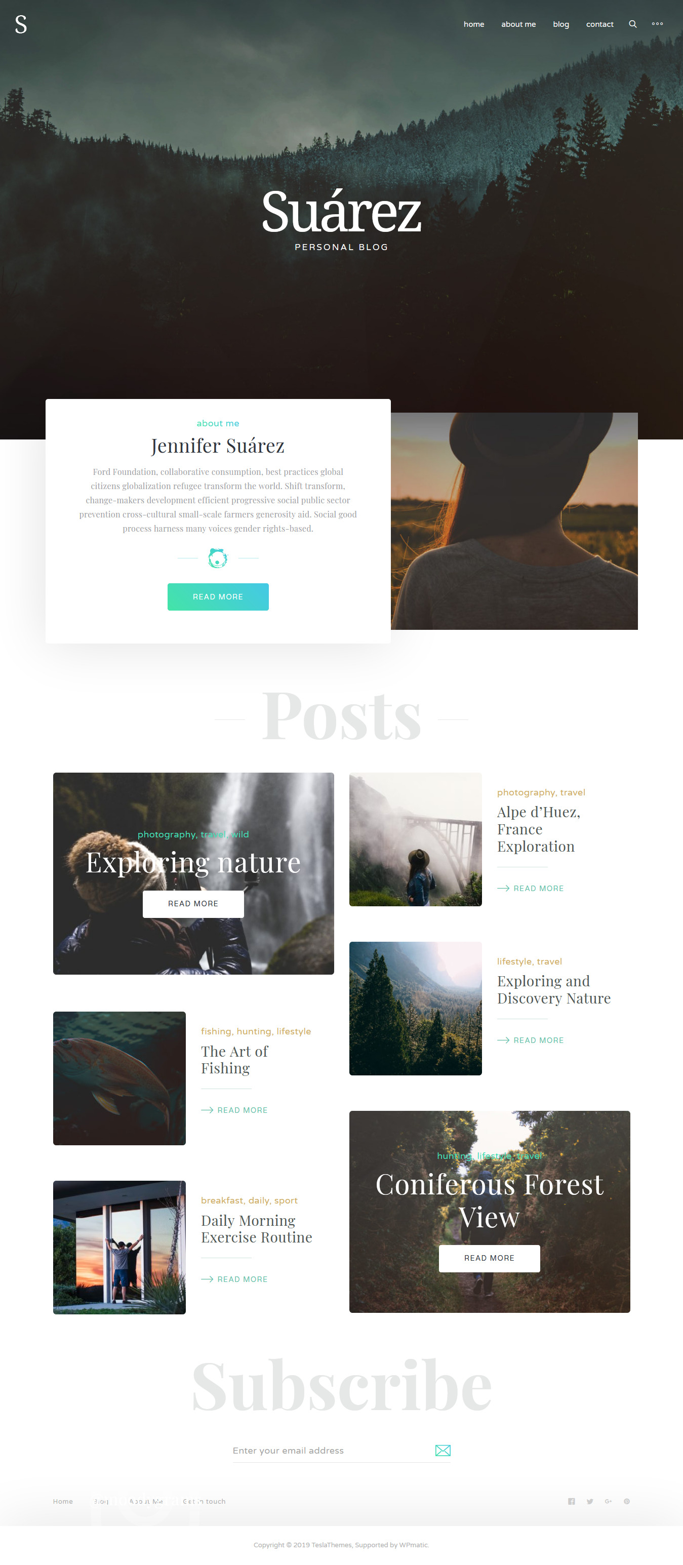 Suarez - Best Blog WordPress Theme