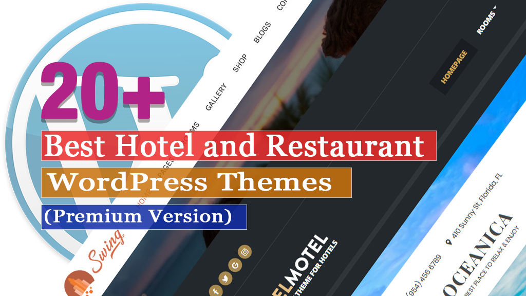 20+ Best Hotel and Restaurant WordPress Themes
