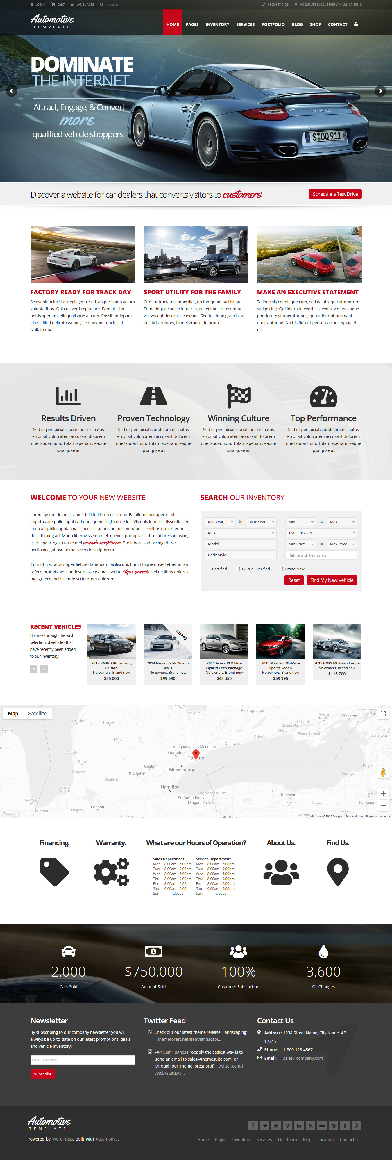 Automotive – Best Premium Multilingual WordPress Theme