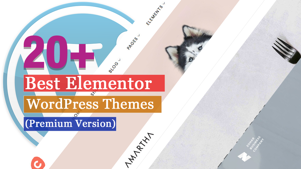 20 + Best Elementor WordPress Themes