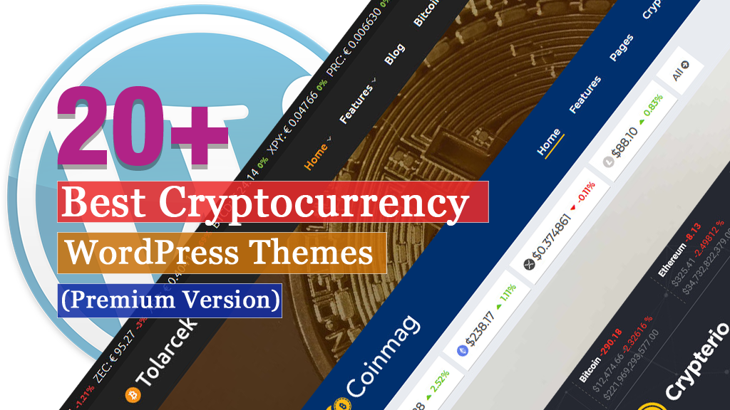 20+ Best Cryptocurrency WordPress Themes