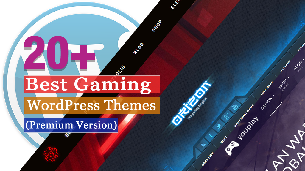 Best Premium Gaming WordPress Themes