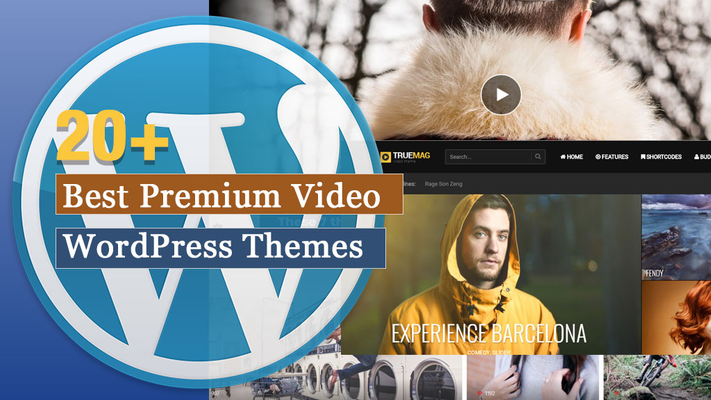 20+ Best Premium Video WordPress Themes